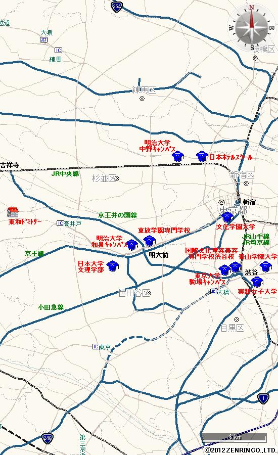 青山学院大学(青山キャンパス)
