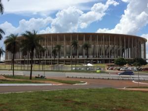 ブラジリアの競技場